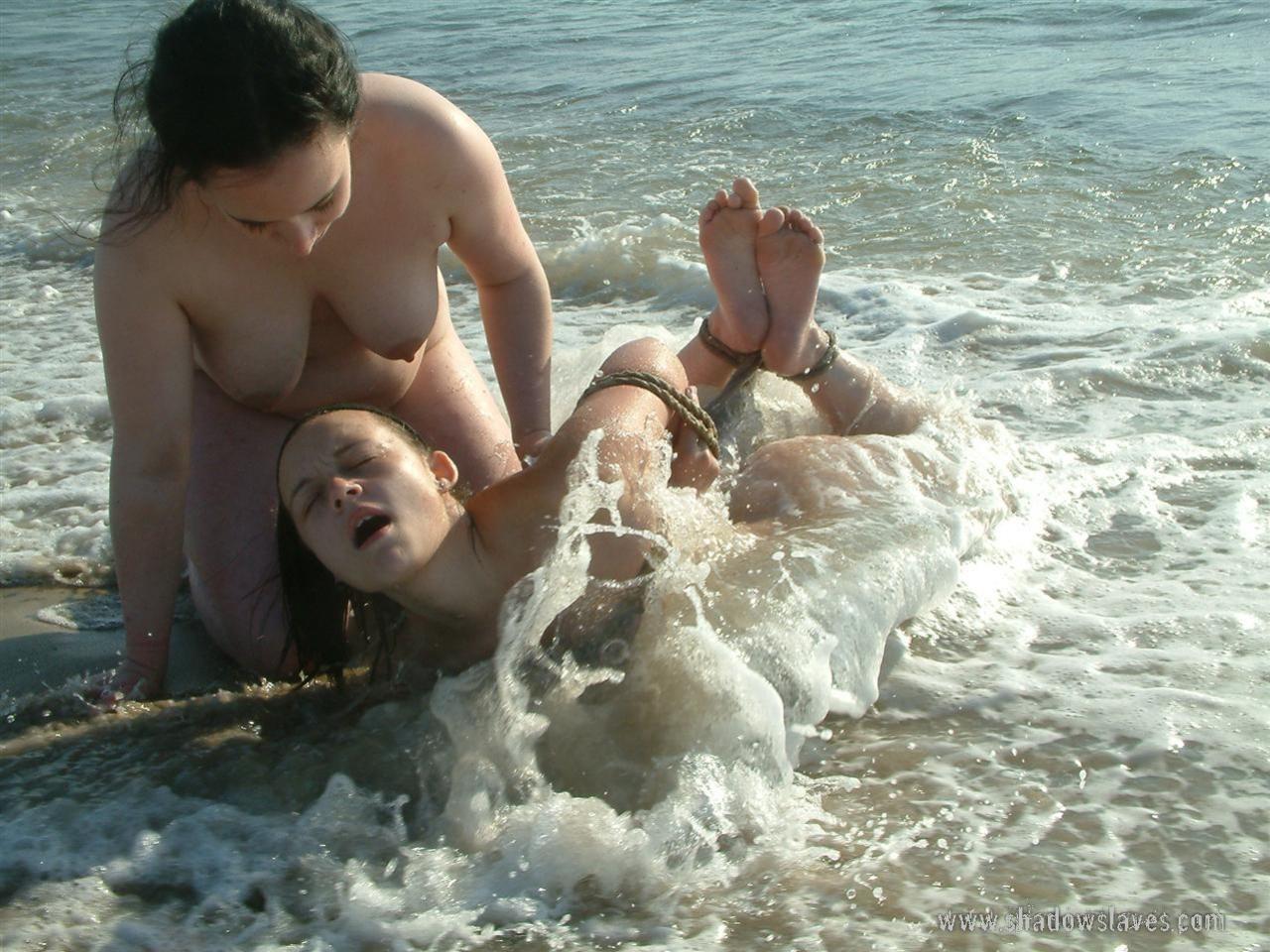 Bondage On The Beach