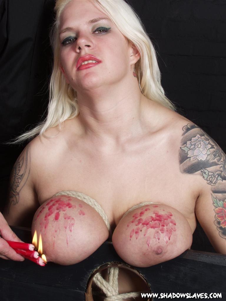 Big tit torture