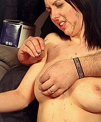 image Busty slavegirl emilys extreme bdsm and whipping torture