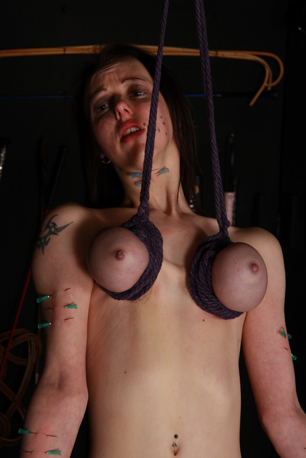 Opinion extreme tit breast bondage consider